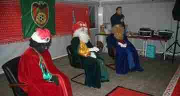 GALERÍA: Los Reyes Magos de Oriente visitan al CD Malilla
