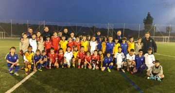 Amistoso de la Selección FFCV Sub-12 ante el Elche CF el lunes 30
