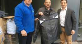 La FFCV dona ropa de abrigo a la Casa de la Caridad para combatir la ola de frío