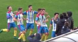 VIDEO: El Kelme Juvenil División de Honor se trabaja un punto ante el Valencia (1-1)