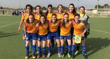 La Selección FFCV Sub-16 Femenina saca adelante el choque ante Castilla-La Mancha (2-4)