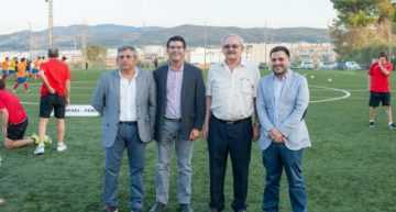La FFCV colaborará en los campos 'La Purísima' de Ontinyent