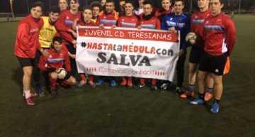 Hasta la médula con Salva: el joven deportista al fin hará el saque de honor con el CD Teresianas