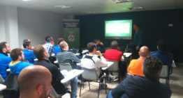 Alberic acoge la Jornada Técnica de Actualización y Reciclaje para entrenadores