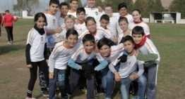 Las Escoles Cor Blanquinegre de la Fundación VCF llegan a Sagunto