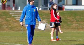 La Selección Española Sub-16 se lleva a tres valencianas al Torneo de Desarrollo UEFA en Inglaterra