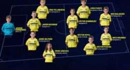 Los 11 mejores jugadores de la escuela del Villarreal CF en la jornada del 4 y 5 de febrero