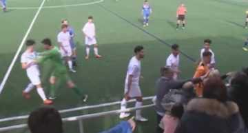VIDEO: Juveniles y padres a puñetazos en el FC Andorra – AE Prat