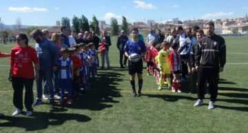 VIDEO: El CD Alcoyano también dice 'no' a la violencia en el fútbol base