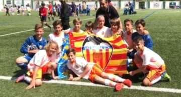El Valencia CF arrasa en la Tour Cup 2017 de Guijuelo