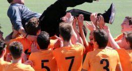 """El Zafranar """"A"""" Cadete se proclama campeón de liga en la jornada 25"""