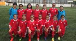 La selección FFCV femenina Sub-12 parte rumbo al Campeonato de España
