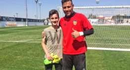 VIDEO: Diego Alves cumplió su promesa con el joven portero Josep