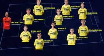 XI de la jornada y resultados de la cantera del Villarreal (8 y 9 de abril)