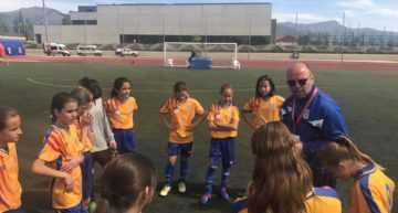 Más entrenamientos de la Selección Femenina Sub-12 este 1 de febrero en Picassent