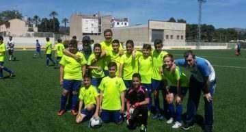 Atlético Macastre conquistó con solvencia en el Marítimo la Liga B5 Alevín