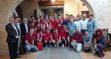 Recepción en el Ayuntamiento al Juvenil A del Alboraya UD tras su ascenso a División de Honor