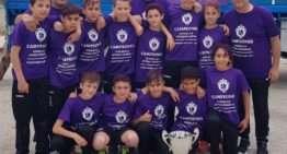 La UE Gandía conquista con superioridad la Superliga Intercomarcal Alevín