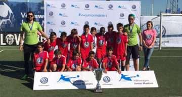 VIDEO: Colegio Salgui repite como campeón Alevín en la VIII Volkswagen Junior Masters