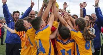 La Selección FFCV Sub-12 conquista con brillantez el Campeonato de España