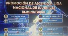 Ocho equipos se batirán para obtener una de las cuatro plazas para Liga Nacional Juvenil
