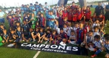 Triplete del Levante UD y títulos para Alboraya, Fundación VCF y San José en la VII Copa Federación