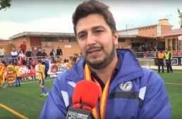 """David García (seleccionador FFCV Sub-12): """"No tenía miedo a hacer cambios, eran catorce jugadores titulares"""""""