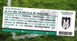 El CD Malilla se 'muda' en fútbol-11 a Castellar a la espera de su nuevo campo