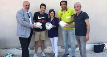 GALERÍA: Malilla bate el récord de 'Pasa el Balón' y enviará 534 balones a los niños de Guinea Ecuatorial