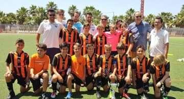 Patacona, Villarreal y Fundación VCF conquistan el I Torneo Bauhaus de Fútbol Base