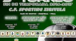El Sporting Xirivella ultima los detalles de su V Torneo Final de Temporada el 16, 17 y 18 de junio