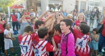 El CF Malvarrosa se coronó en el Torneo Tractem Alevín