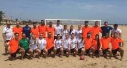 Jove Espanyol y Levante, protagonistas de la jornada de Liga Autonómica de Fútbol Playa