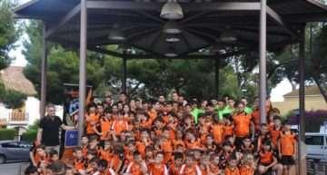 El CF Sporting Rocafort celebra su ascenso a Juvenil Preferente