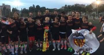 El Valencia CF conquista la Superliga Alevín Segundo Año en el último suspiro