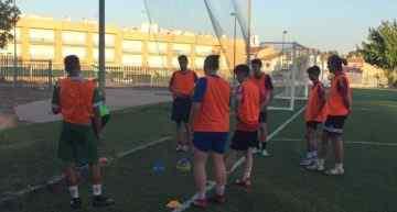 Los juveniles del CF Huracán comienzan su pretemporada