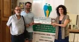 Mislata UF entregó a Aspanion el dinero recaudado en memoria de Eric Lozano