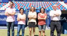 El Levante UD presenta el nuevo organigrama para su sección de Fútbol Femenino