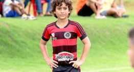 VIDEO: Lucianinho, 'hype' carioca de 12 años para el Flamengo