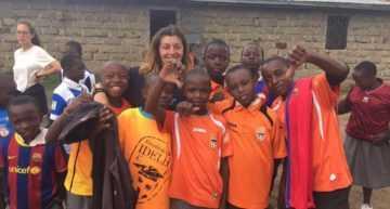 Acción solidaria del Idella CF con Agua ONG para los niños de Kenia