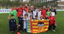 El Valencia CF Infantil 'B' conquista China