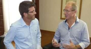 El empresario Rodney Meaker presenta su ambicioso proyecto para el Ontinyent CF
