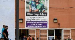 William Thiego de Jesús, fallecido en el avión del Chapecoense, fue homenajeado en el COTIF