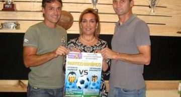 Último 'empujón' solidario al amistoso entre veteranos de Burjassot y Valencia CF del 22 de septiembre