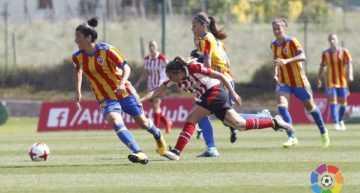 El Valencia CF femenino se deja los tres puntos en su visita al Athletic (3-2)