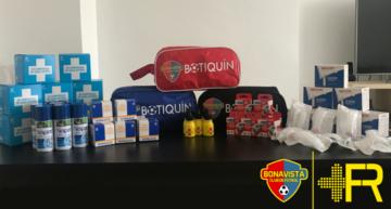 Ya disponibles los botiquines para los equipos del Bonavista CF