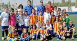 Buena piedra de toque para las chicas Sub-12 del Valencia ante el Athletic Union Catarroja