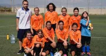 GALERÍA: Histórico amistoso de debut para las chicas alevines del Biensa CF