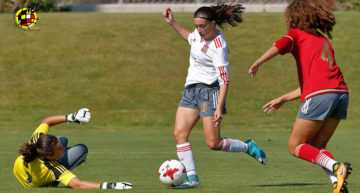 España Sub-17 selecciona a Eva Navarro y 'Asun' Martínez del Sporting Plaza Argel