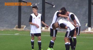 VIDEO: El Valencia CF se impuso al Fundación VCF en Liga Autonómica Cadete (4-0)